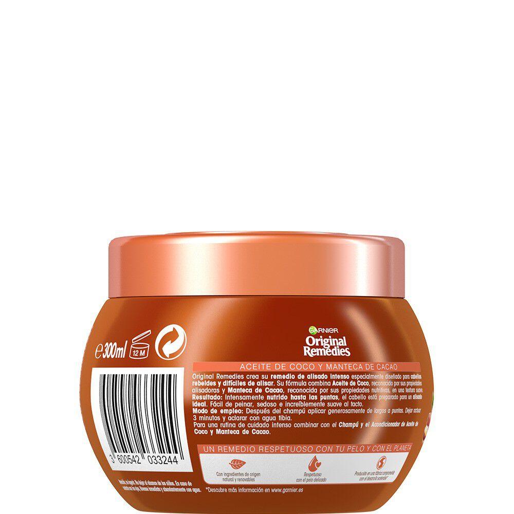 Mascarilla-Nutritiva-Alisado-Aceite-de-Coco/Manteca-Cacao-300-mL-imagen-3
