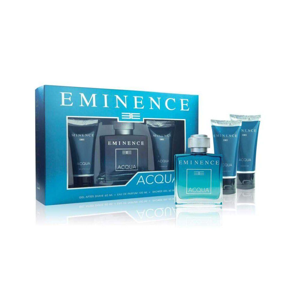 Acqua Eau De Parfum Spray 100Ml+Gel After Shave 60M+Shower Gel 60M image number null
