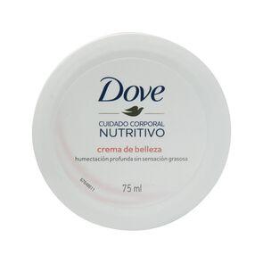 Cuidado Corporal Nutritivo Crema de Belleza Humectación Profunda 75 mL