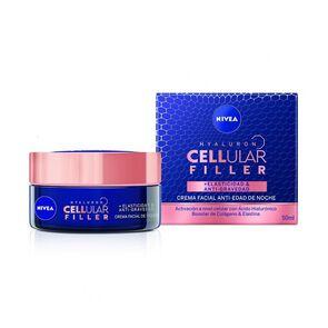 Crema Facial Hyaluron Cellular Filler Elasticidad & Anti-Gravedad Noche 50 ml