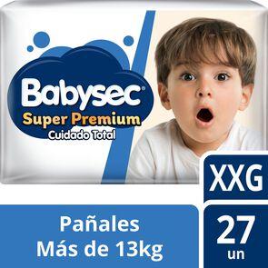 Super Premium Pañales Desechables Talla XXG 27 Unidades