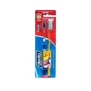Cepillo Dental Dento Plus Suave 2 Unidades
