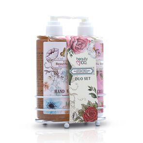 Romantic Crema de Manos 300 mL + Jabón Líquido 300 mL
