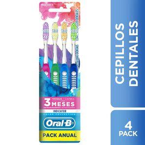 Cepillos dentales Indicator 4 Unidades