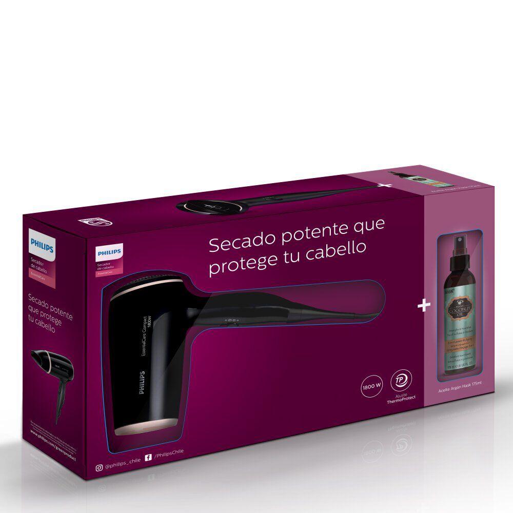 Secador de pelo Essential + Óleo para el cuidado capilar HASK