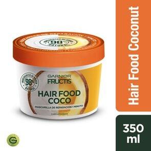 Garnier Hair Food Coco Mascarilla de Reparación 1 Minuto 350 mL