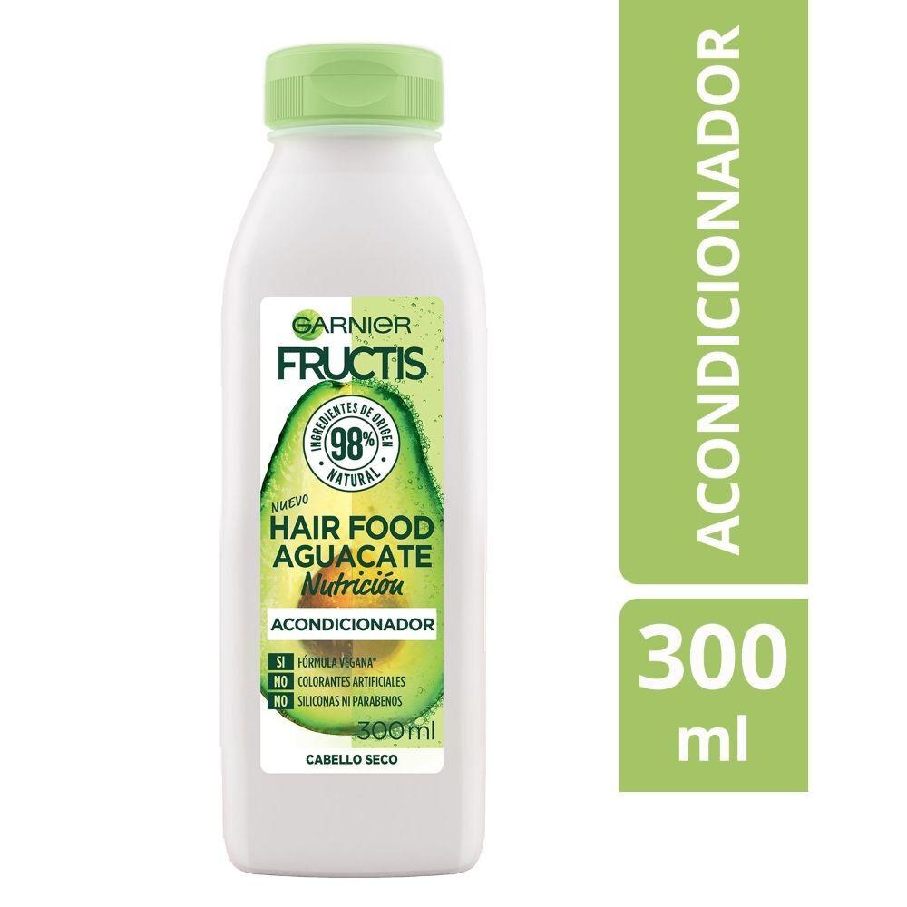 Garnier Hair Food Acondicionador Aguacate Nutrición Cabello Seco 300 mL image number null