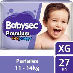 Pañal Babysec Premium Flexiprotect Talla Xg 27 Pañales