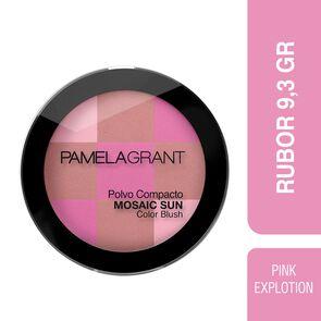 Mosaic Sun Polvo Compacto de 9 gr. Color Pink