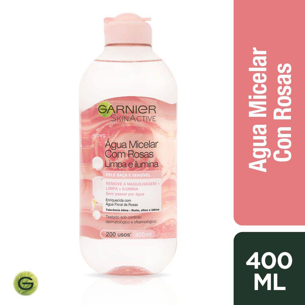 Agua Micelar de Rosas Skin Acitve 400 mL  image number null