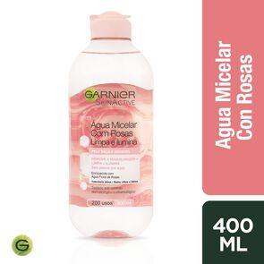 Agua Micelar de Rosas Skin Acitve 400 mL