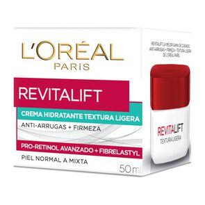 Crema De Día Anti-Arrugas Textura Ligera Revitalift