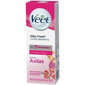 Silky Fresh Crema Depilatoria Axilas Pieles Normales 25 grs + Espatula