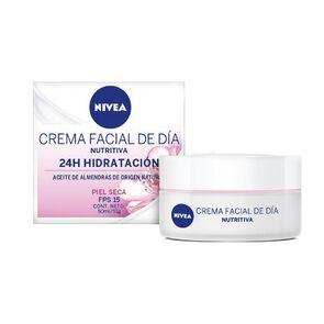 Crema Facial Hidratante Intensiva Dia Fps15 Piel Seca 50 mL