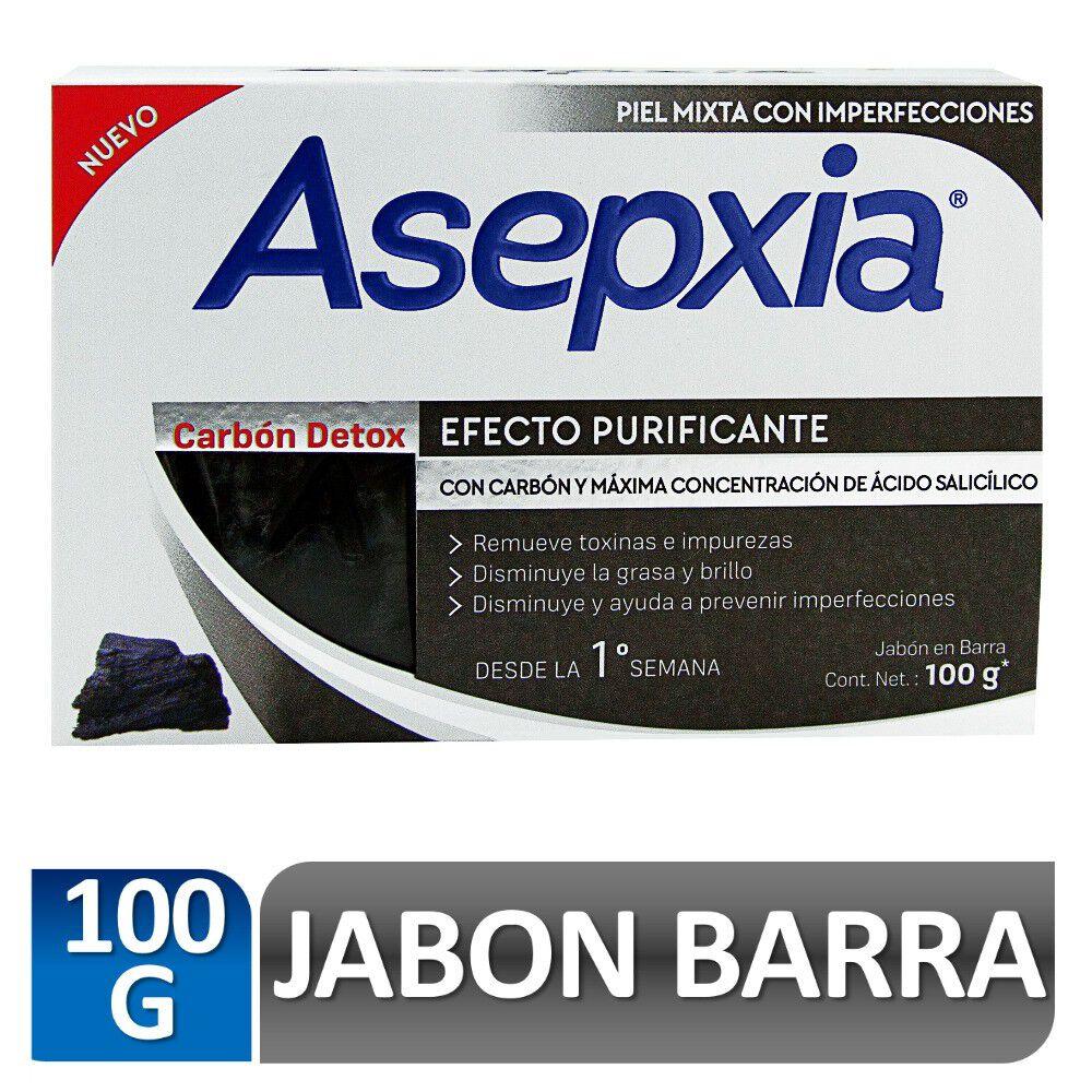 Jabón Barra Carbón Detox Efecto Purificante 100 gr image number null