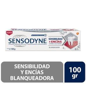 Crema Dental con Flúor Sensibilidad y Encías Blanqueadora 100 grs