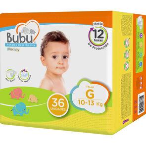 Flexidry Pañal Infantil Talla G 36 Unidades