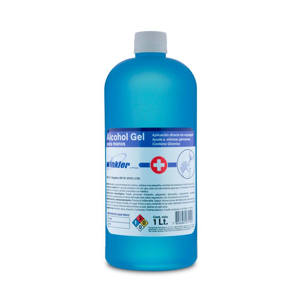 Alcohol Gel con Aloe Vera Sin Enjuague 1000 mL image number null