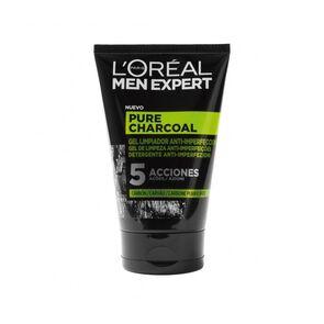 Gel Limpiador Pure Charcoal 100 Ml Men Expert