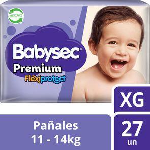 Pañal-Babysec-Premium-Flexiprotect-Talla-Xg-27-Pañales-imagen
