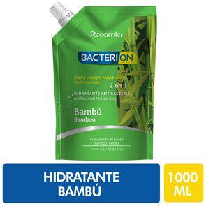 Jabón Líquido Para Manos Hidratante Antibacterial 2En1 Bambu 1000 mL