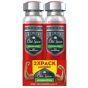 Pack Antitranspirante Spray Hombre Leyenda Épica x2