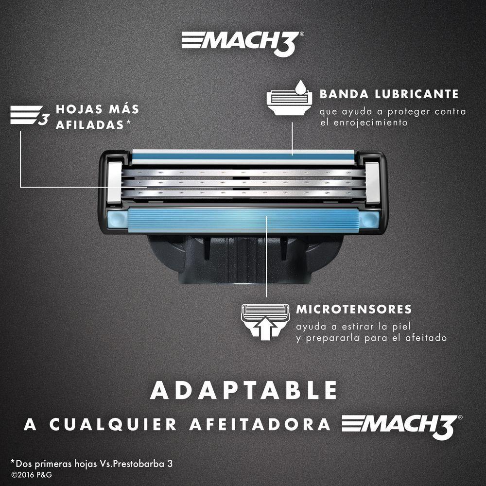 Cartuchos-para-afeitar-Mach3-4-Unidades-imagen-4