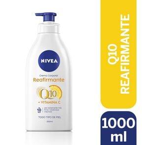 Crema Corporal Reafirmante Q10 1000 mL