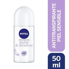 Desodorante Roll On Pure & Sensitive 50 mL
