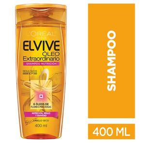 Óleo Extraordinario Shampoo Nutrición Cabello Seco 400 mL