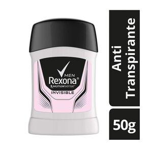 Men Invisible Antitranspirante Barra 50 grs