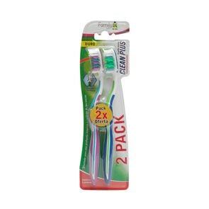 Cepillo Dental Adulto Duro x2