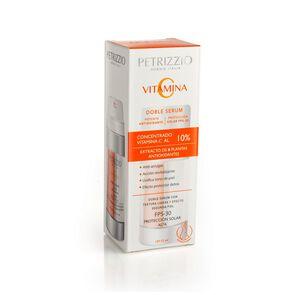 Serum Doble Acción Vitamina C Anti Oxidante y Protección Solar Fps30 Todo Tipo Piel 30 mL