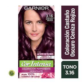 Coloración Cor Intensa 3.16 Castaño Ce.Rojizo Garnier