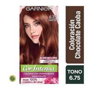Coloración Cor Intensa 6.75 Chocolate Caoba Garnier