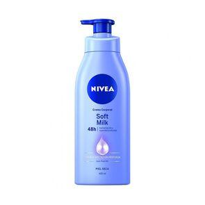 Crema Corporal Soft Milk Piel Seca 400 mL