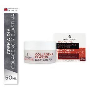 Crema Día Antiarrugas 45 + Collagen & Elastin 50 mL