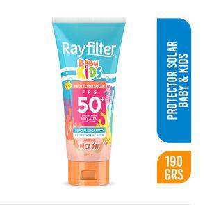 Baby Kids Protector Solar Fps50 + Uva/Uvb Melón Hipoalergénico Resistente al Agua 190 grs