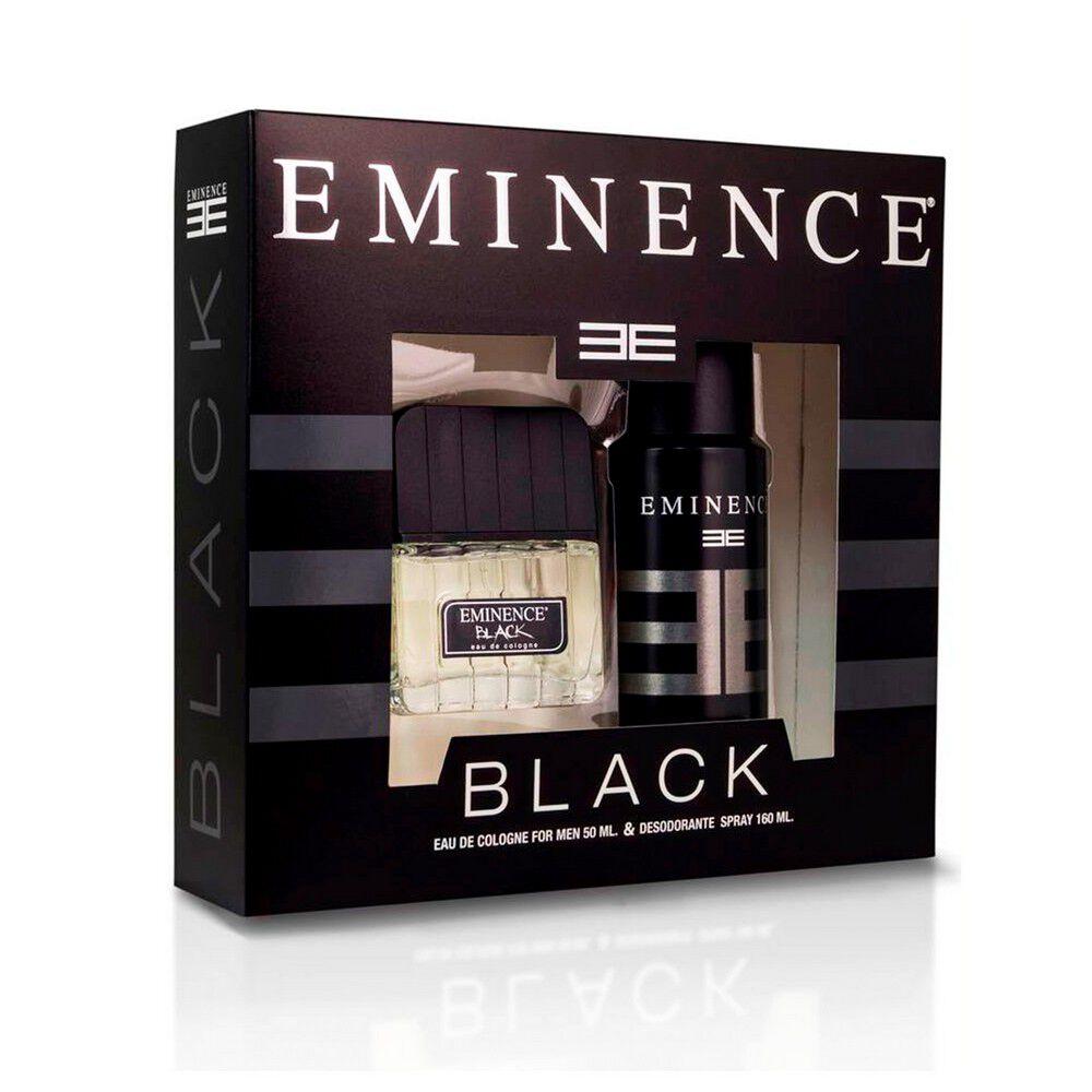 Estuche Black Eau De Cologne 50 mL + Desodorante Spray Black 160 mL image number null