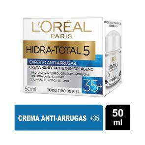 Crema De Día Anti-Arrugas + 35 Hidra-Total 5 50 ml