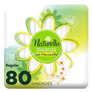 Protector Diario Natural con Manzanilla 80 Unidades