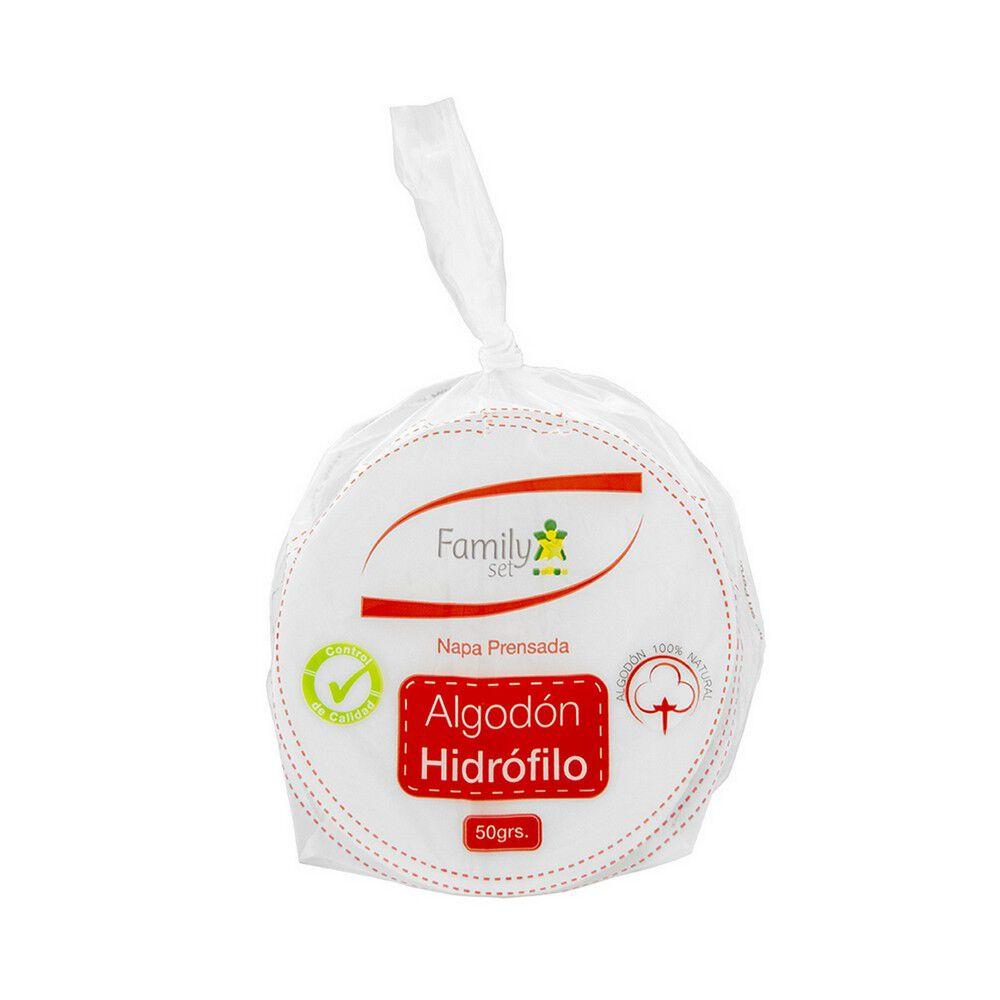 Algodón Hidrofilo Prensado 50 grs image number null