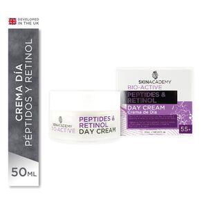 Crema Día Antiarrugas 55 + Peptides & Retinol 50 mL