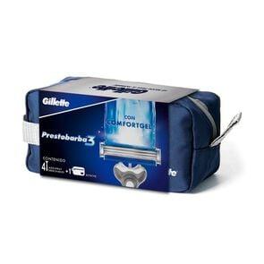 Máquina de Afeitar Desechables 3 con Confort Gel x4 + Estuche