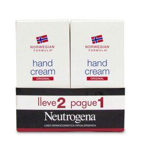 Crema de Manos sin Perfume 112 gr Pack 2 Unidades