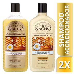 Kit Aclarante Shampoo + Acondicionador Manzanilla