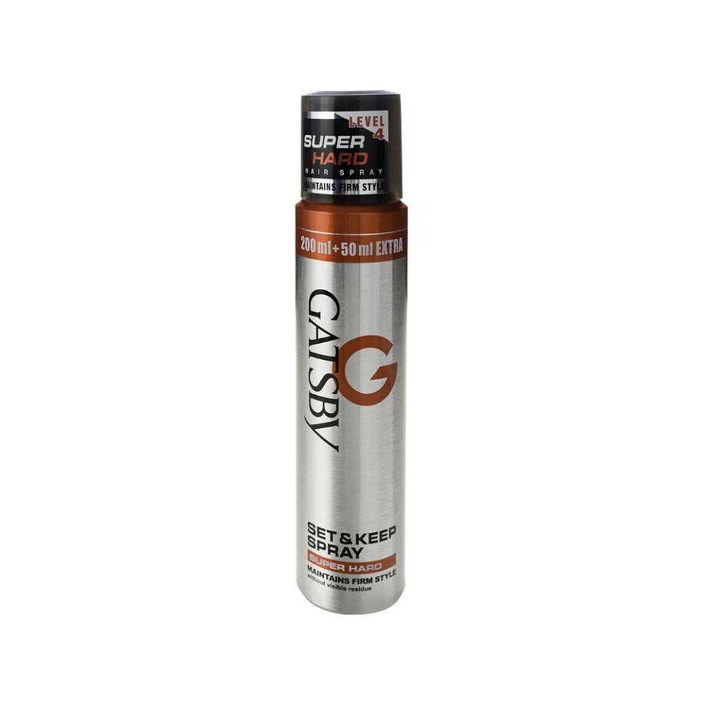 Set & Keep Spray Level 4 Super Hard 166 grs image number null