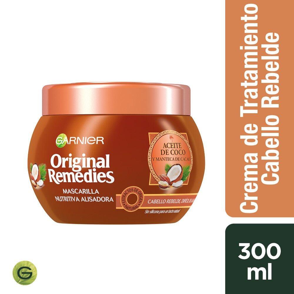 Mascarilla-Nutritiva-Alisado-Aceite-de-Coco/Manteca-Cacao-300-mL-imagen-1