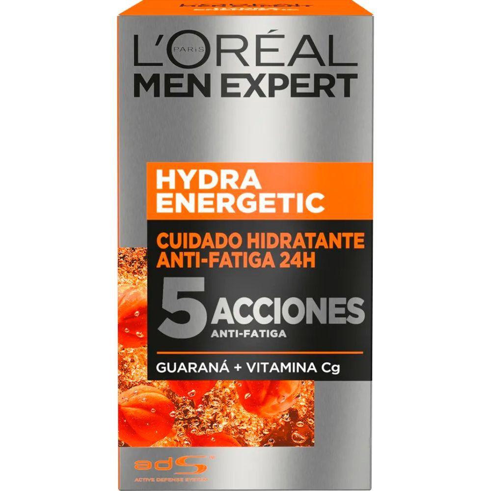 Men Expert Gel-Cr.Cuidado Hidra.A/Fatiga 24H.Energetic 5 Accciones 50 mL image number null