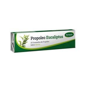 Propóleo Eucaliptus Caramelo Sabor Menta X10